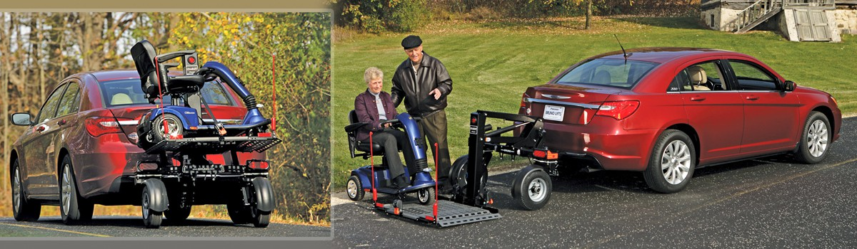 Bruno Chariot Scooter/Wheelchair Lift (1 of 1)